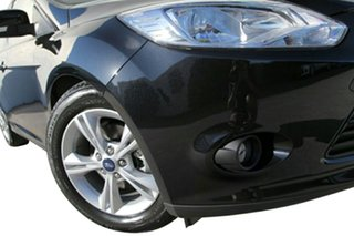 2014 Ford Focus LW MKII MY14 Trend Panther Black 5 Speed Manual Hatchback.