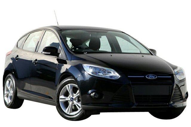 Demo Ford Focus LW MKII MY14 Trend, 2014 Ford Focus LW MKII MY14 Trend Panther Black 5 Speed Manual Hatchback