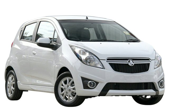 New Holden Barina Spark MJ MY14 CD, 2014 Holden Barina Spark MJ MY14 CD White 4 Speed Automatic Hatchback