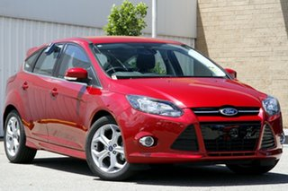 2014 Ford Focus LW MKII MY14 Sport PwrShift Candy Red 6 Speed Sports Automatic Dual Clutch Hatchback