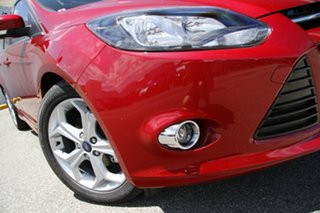 2014 Ford Focus LW MKII MY14 Sport PwrShift Candy Red 6 Speed Sports Automatic Dual Clutch Hatchback.