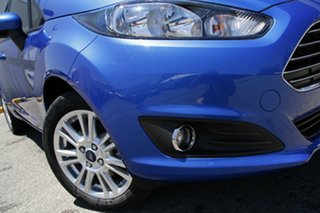 2014 Ford Fiesta WZ MY15 Trend PwrShift Winning Blue 6 Speed Sports Automatic Dual Clutch Hatchback.