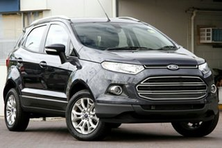 2014 Ford Ecosport BK Titanium PwrShift Sea Grey 6 Speed Sports Automatic Dual Clutch Wagon.