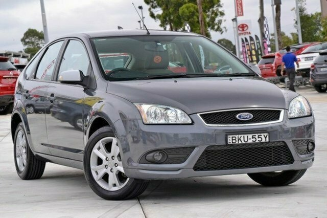 Used Ford Focus LT Ghia, 2008 Ford Focus LT Ghia Grey 4 Speed Sports Automatic Hatchback