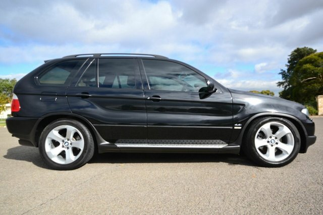 Used BMW X5 E53 , 2004 BMW X5 E53 Black 5 Speed Automatic Wagon