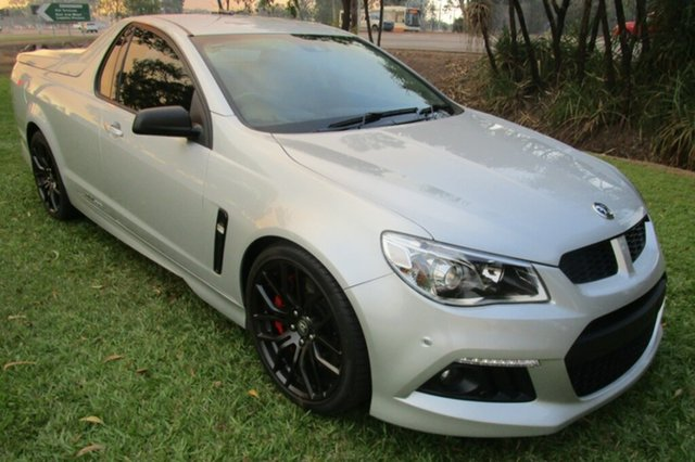 Used Holden Special Vehicles Maloo GEN-F MY14 R8, 2013 Holden Special Vehicles Maloo GEN-F MY14 R8 Silver 6 Speed Manual Utility