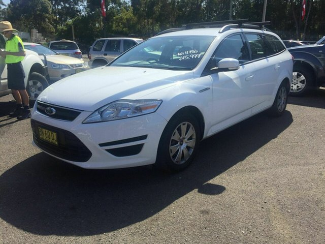 Used Ford Mondeo  Diesel, 2011 Ford Mondeo LX TDCI Diesel White 5 Speed Automatic Wagon