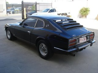 1975 Datsun 260Z 2+2 Black 4 Speed Automatic Coupe
