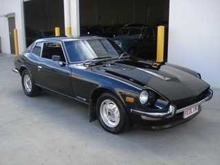 1975 Datsun 260Z 2+2 Black 4 Speed Automatic Coupe.