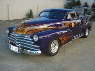 1947 Chevrolet Stylemaster Purple 3 Speed Automatic Utility.
