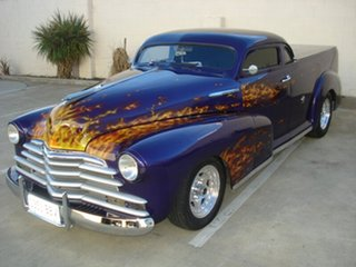 1947 Chevrolet Stylemaster Purple 3 Speed Automatic Utility