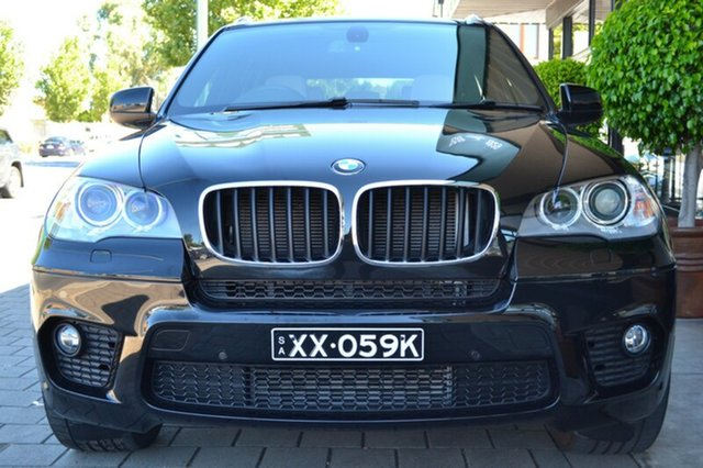 Used BMW X5 E70 MY12.5 xDrive30d Steptronic, 2012 BMW X5 E70 MY12.5 xDrive30d Steptronic Black Metallic 8 Speed Sports Automatic Wagon