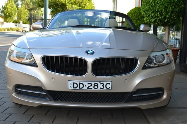 Used BMW Z4 E89 MY0310 sDrive23i, 2010 BMW Z4 E89 MY0310 sDrive23i Beige Metallic 6 Speed Manual Roadster