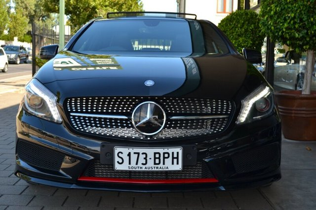 Used Mercedes-Benz A250 W176 Sport D-CT, 2014 Mercedes-Benz A250 W176 Sport D-CT Black Metallic 7 Speed Sports Automatic Dual Clutch