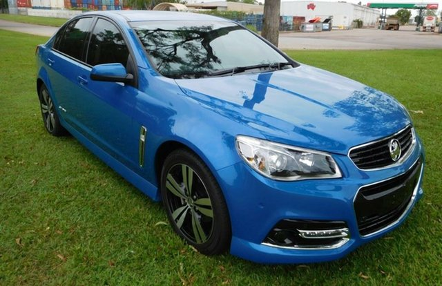 Used Holden Commodore VF MY14 SV6, 2014 Holden Commodore VF MY14 SV6 Blue 6 Speed Manual Sedan