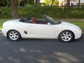 1997 MG F VVC White 5 Speed Manual Roadster.