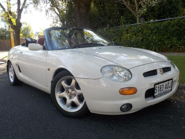 Used MG F  , 1997 MG F White 5 Speed Manual Roadster