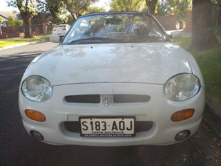 1997 MG F White 5 Speed Manual Roadster