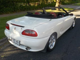 1997 MG F White 5 Speed Manual Roadster.