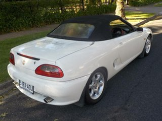 1997 MG F VVC White 5 Speed Manual Roadster