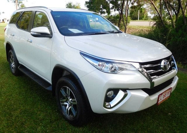 Used Toyota Fortuner GUN156R GXL, 2016 Toyota Fortuner GUN156R GXL White 6 Speed Automatic Wagon