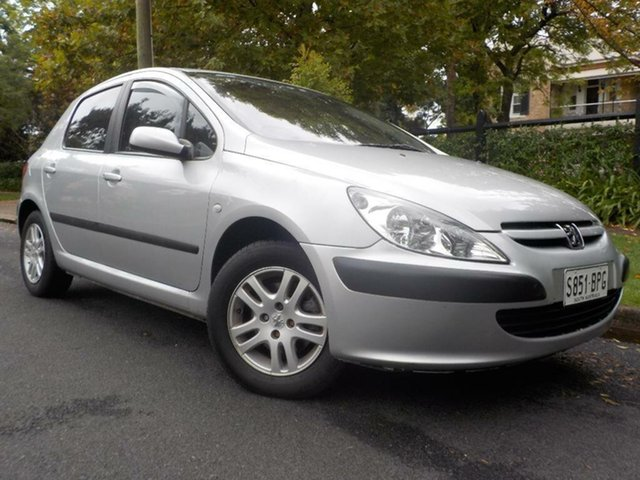 Used Peugeot 307 T5 HDi, 2002 Peugeot 307 T5 HDi Silver 5 Speed Manual Hatchback