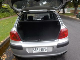 2002 Peugeot 307 T5 HDi Silver 5 Speed Manual Hatchback