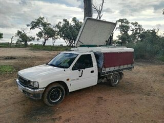 1996 Holden Rodeo TF G6 LX White 5 Speed Manual Cab Chassis