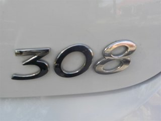 2008 Peugeot 308 T7 XS White 4 Speed Sports Automatic Hatchback