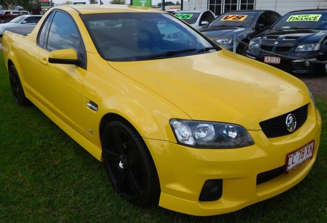 Used Holden Ute VE II SV6 Thunder, 2011 Holden Ute VE II SV6 Thunder Yellow 6 Speed Manual Utility