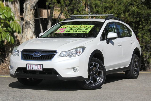Used Subaru XV G4X MY14 2.0i Lineartronic AWD, 2014 Subaru XV G4X MY14 2.0i Lineartronic AWD White 6 Speed Constant Variable Wagon