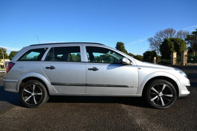 Used Holden Astra AH CD, 2008 Holden Astra AH CD Silver 5 Speed Manual Wagon