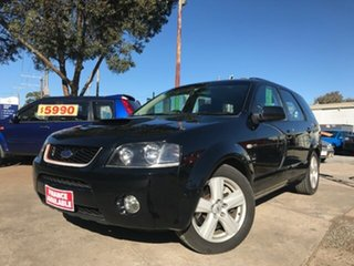 2007 Ford Territory SY Turbo AWD Black 6 Speed Sports Automatic Wagon.