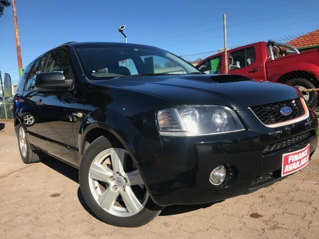 Used Ford Territory SY Turbo AWD, 2007 Ford Territory SY Turbo AWD Black 6 Speed Sports Automatic Wagon