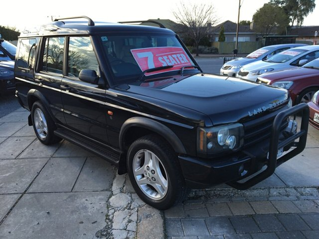 Used Land Rover Discovery 03MY S Td5, 2003 Land Rover Discovery 03MY S Td5 Black 4 Speed Automatic Wagon