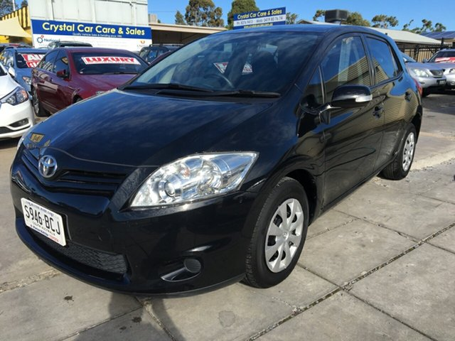 Used Toyota Corolla ZRE152R MY11 Ascent, 2010 Toyota Corolla ZRE152R MY11 Ascent Ink 6 Speed Manual Hatchback