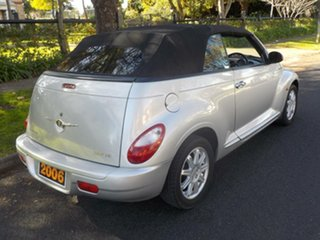 2006 Chrysler PT Cruiser PG MY2006 Touring Silver 4 Speed Sports Automatic Convertible.