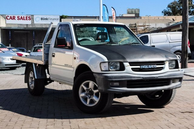 Used Holden Rodeo TF R9 DX, 2000 Holden Rodeo TF R9 DX White 5 Speed Manual Cab Chassis