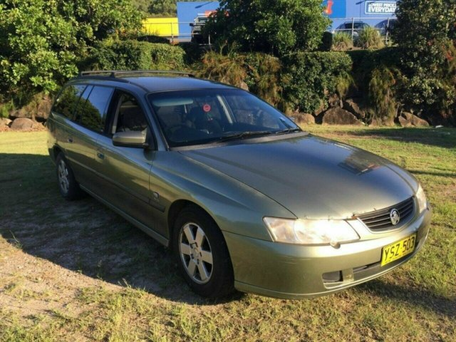 Used Holden Commodore VY Executive, 2003 Holden Commodore VY Executive Bronze 4 Speed Automatic Wagon