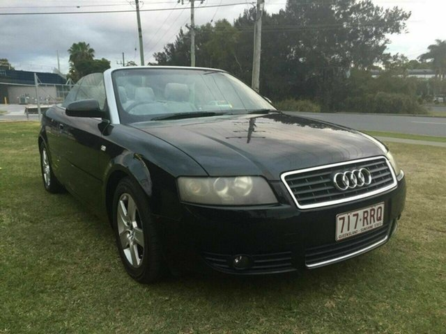 Used Audi A4 B6 MY05 Multitronic, 2004 Audi A4 B6 MY05 Multitronic Black 1 Speed Constant Variable Cabriolet