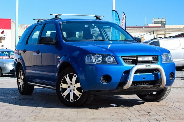 Used Ford Territory SY SR, 2007 Ford Territory SY SR Blue 4 Speed Sports Automatic Wagon