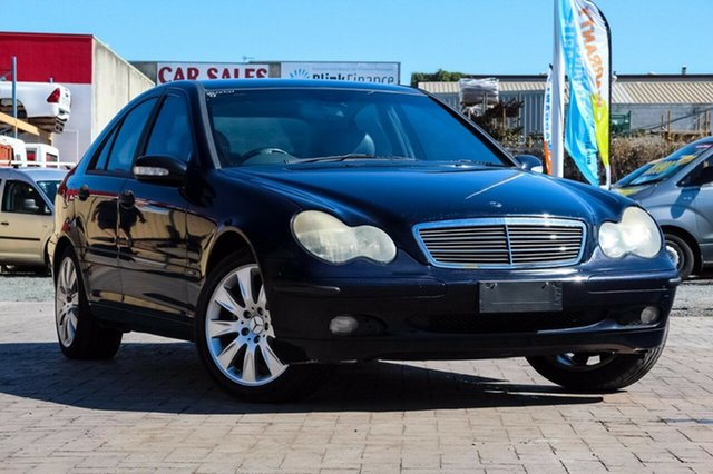Used Mercedes-Benz C180 W203 Classic, 2002 Mercedes-Benz C180 W203 Classic Blue 5 Speed Automatic Sedan