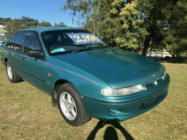Used Holden Commodore VR Executive, 1993 Holden Commodore VR Executive Blue 4 Speed Automatic Sedan