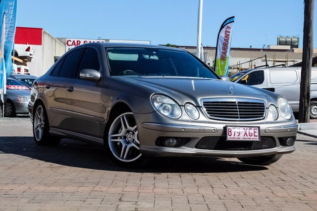 Used Mercedes-Benz E55 W211 MY06 AMG, 2005 Mercedes-Benz E55 W211 MY06 AMG Silver 5 Speed Sports Automatic Sedan