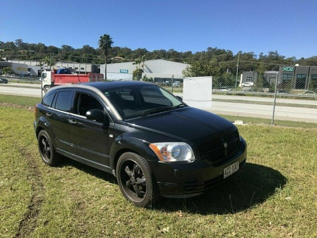 Used Dodge Caliber PM SX, 2009 Dodge Caliber PM SX Black 5 Speed Manual Hatchback