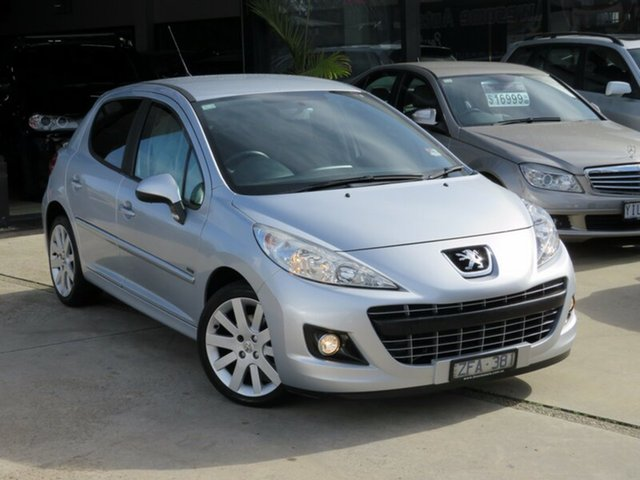 Used Peugeot 207  Sportium S.e., 2012 Peugeot 207 Sportium S.e. Liquid Silver 4 Speed Automatic Hatchback