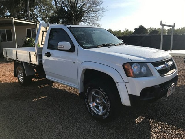Used Holden Colorado RC LX, 2008 Holden Colorado RC LX White 5 Speed Manual Cab Chassis