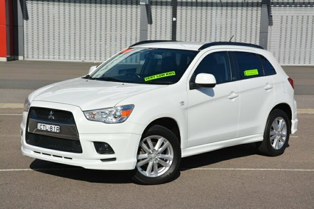 Used Mitsubishi ASX XA MY12 30th Anniversary 2WD, 2011 Mitsubishi ASX XA MY12 30th Anniversary 2WD White 6 Speed Constant Variable Wagon