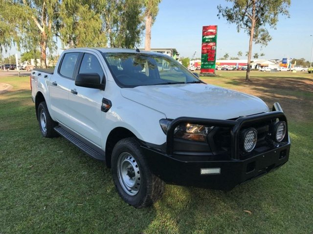 Used Ford Ranger PX MkII XL Double Cab, 2015 Ford Ranger PX MkII XL Double Cab White 6 Speed Sports Automatic Cab Chassis