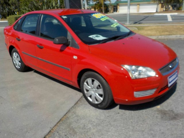 Used Ford Focus LS CL, 2006 Ford Focus LS CL Red 4 Speed Automatic Sedan